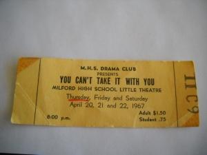 ticket stub, YCTIWY