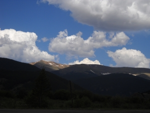 On the road to Guanella Pass