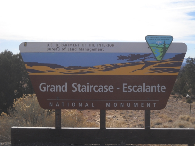 Grand Staircase Escalante National Monument, March 11, 2013