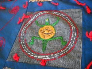 quilt detail: turtle