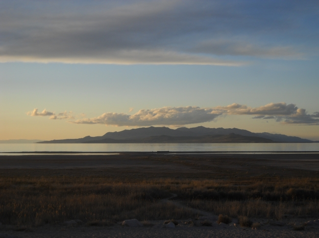 Great Salt Lake from Antelope Island, Utah