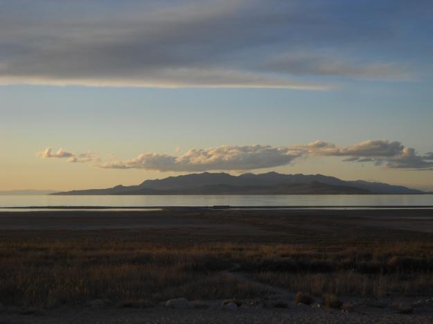 Great Salt Lake from Antelope Island, Utah