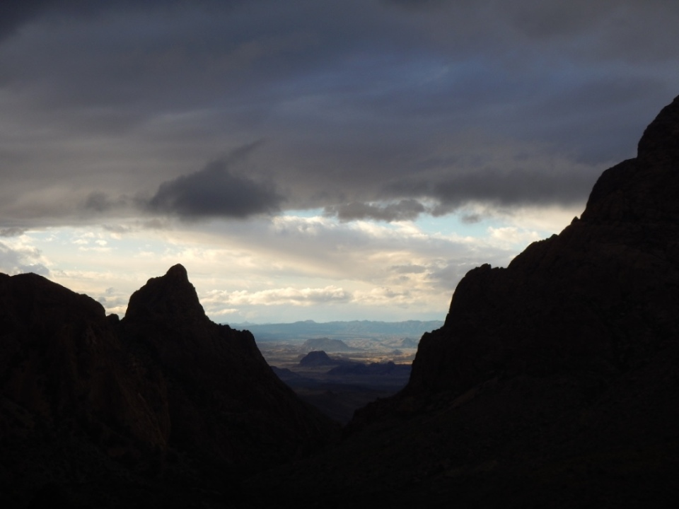 The Window, Chisos Basin, Big Bend N.P.