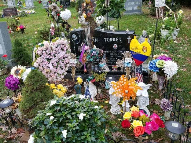 Columbia Gardens Cemetery, November 1, 2017