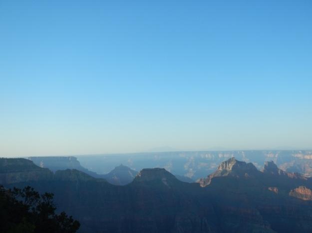 sky blue, North Rim, Arizona