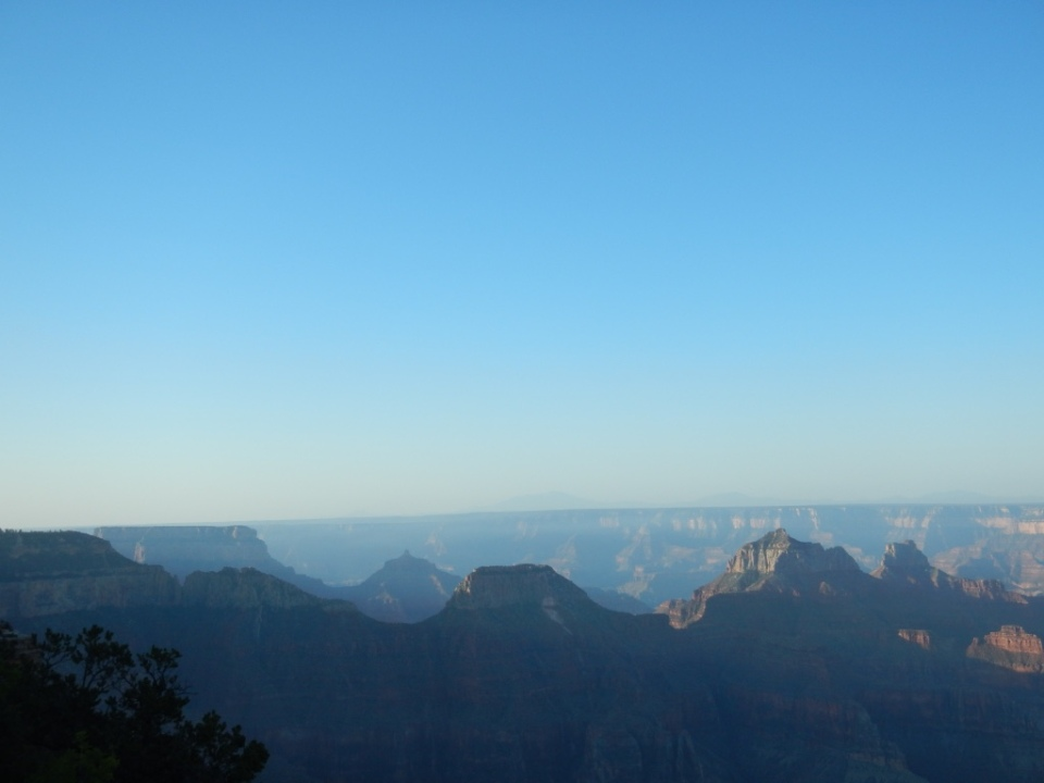 sky blue, North Rim, Arizona