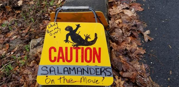 sign, Gulf Branch Nature Center, Arlington, Virginia