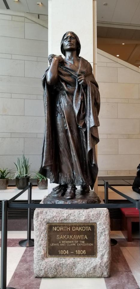Statue of Sakakawea, U.S. Congress