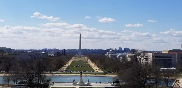 view eastward, U.S. Congress