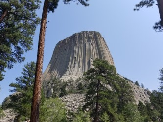 Devils Tower, AKA Bear Lodge, Wyoming