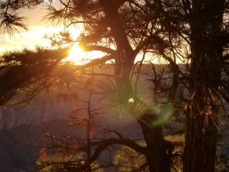 Transept Canyon sunset