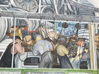 from Diego Rivera's Detroit Industry Murals, Detroit Institute of Art